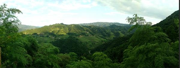穿岩山森林公园天高气爽