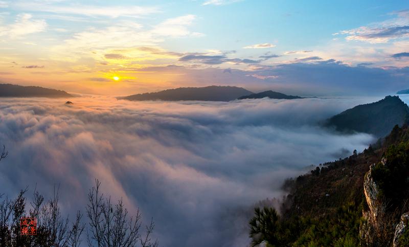 穿岩山国家森林公园分享展示