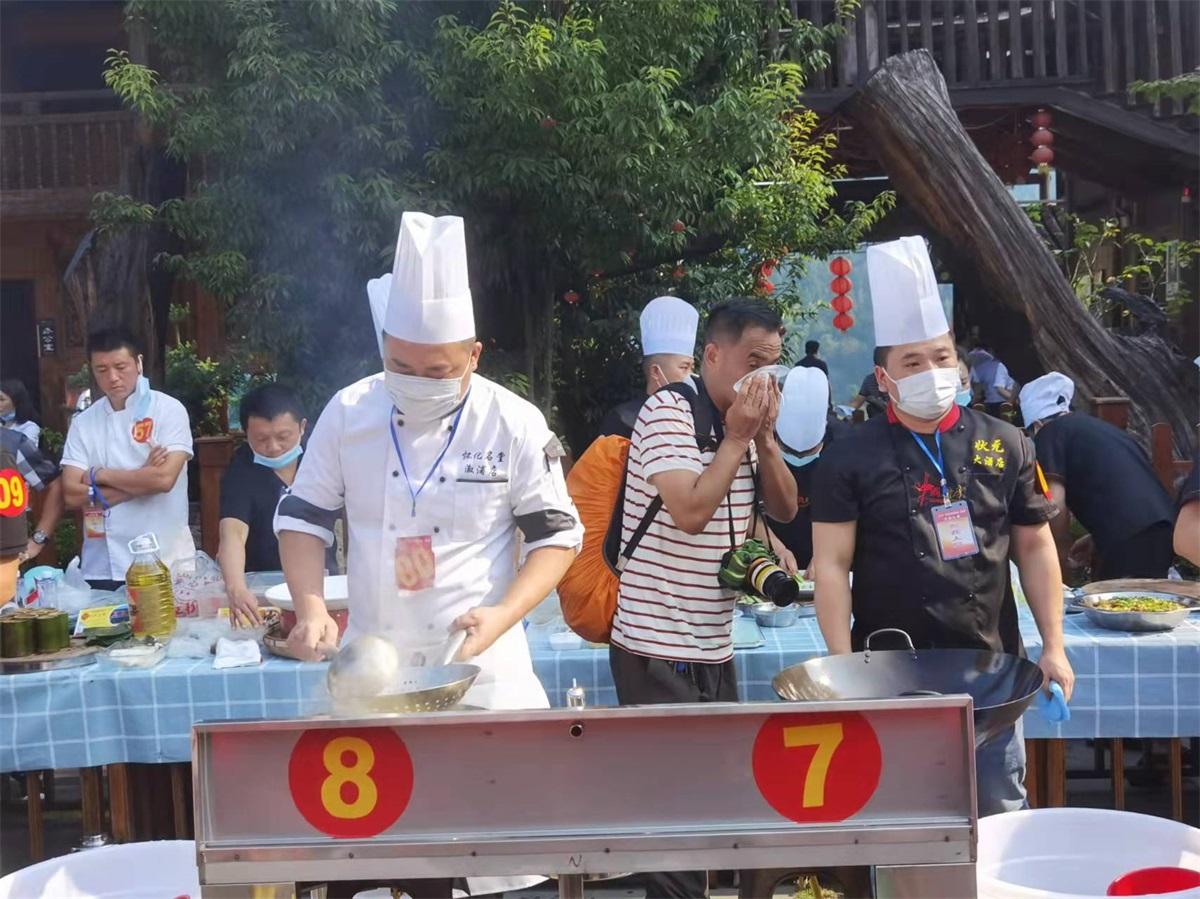 """味觉风味别样 味道独具特色——""""味道湖南雪峰山味道""""美食季活动在枫香瑶寨举行"""